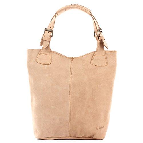 cuir LE0033 pour à Sacs femme cognac provisions véritable pour 34x35x10cm sacs main pour femme bureau à pour à Leconi Sac cuir Sac en femme vintage main en le les 8qgpzFB