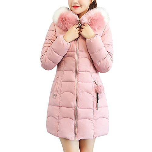 Caopixx Women Outwear Winter Jacket Thickened Long Down JacketsThick Fur Cotton Parka Slim Jacket Coat