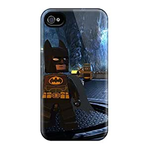 Durable Hard Phone Case For Iphone 4/4s (evM2496IUjR) Allow Personal Design Colorful The Lego Movie Pattern