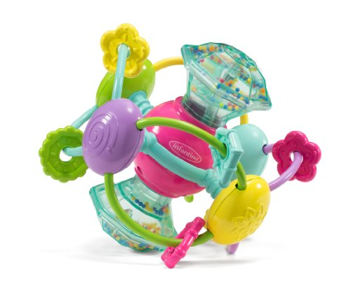 Infantino Discovery Gem Activity Ball