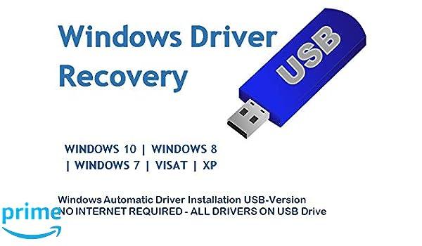 Amazon com: Automatic Driver Installation USB Drive 32GB for Windows