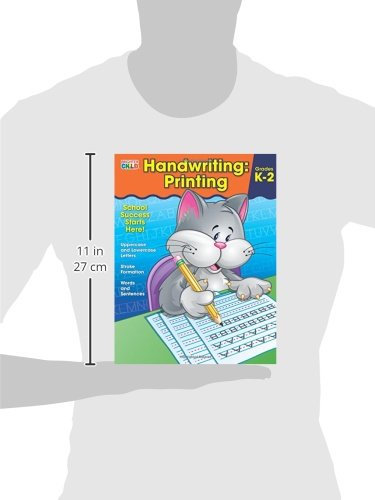 fd2b8a0ba0909 Handwriting: Printing (Brighter Child: Grades K-2): Brighter Child ...