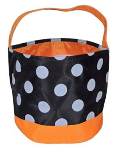 Jolly Jon Halloween Trick or Treat Bags - Kids Candy Bucket Tote Bag -