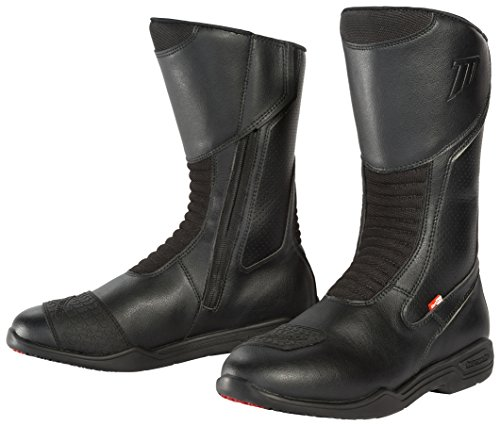 TourMaster Men's Epic Touring Motorcycle Boots (Black, Size 12)