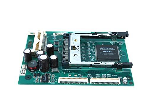 (Zebra 33031 PCMCIA PCB 33037P 170Xilll Bar Code Board Printer Memory Card OEM)