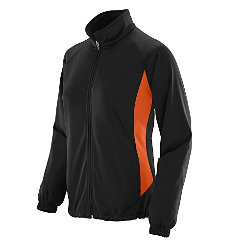 - Augusta Sportswear Women's Medalist Jacket L Black/Orange