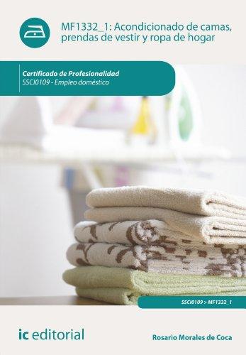 Acondicionado de camas, prendas de vestir y ropa de hogar. SSCI0109 (Spanish Edition