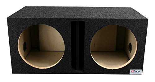 "BBox E12DV Dual 12"" Vented Carpeted Subwoofer Enclosure"