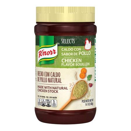 Knorr Selcets Chicken Boullion No MSG 14.1 Ounces