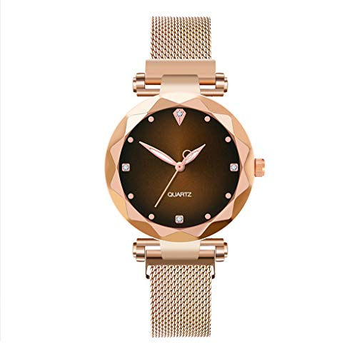 Ladies Watch, Ladies Watch Ultra-Thin Dress Watch Ladies, Simple Watch Ladies Classic Ladies Watch Rose