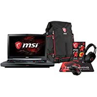 MSI GT75VR TITAN PRO-202 Enthusiast (i7-7820HK, 32GB RAM, 1TB NVMe SSD + 1TB HDD, NVIDIA GTX 1080 8GB, 17.3 Full HD 120Hz 3ms, Windows 10) VR Ready Gaming Notebook