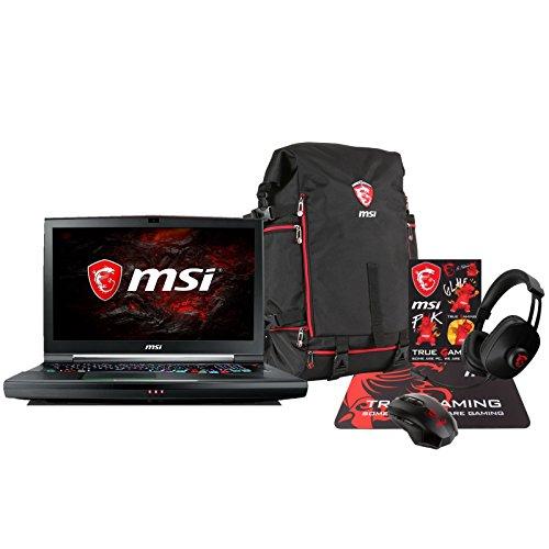 MSI GT75VR TITAN PRO-202 Enthusiast (i7-7820HK, 16GB RAM, 250GB NVMe SSD + 1TB HDD, NVIDIA GTX 1080 8GB, 17.3