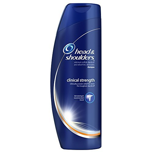 Head & Shoulders Clinical Strength Dandruff and Seborrheic Dermatitis Shampoo 13.5 Fl Oz (Pack of 2) by Head & Shoulders