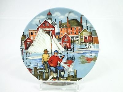 Vintage Avon American Portraits Plate Collection The East 1985