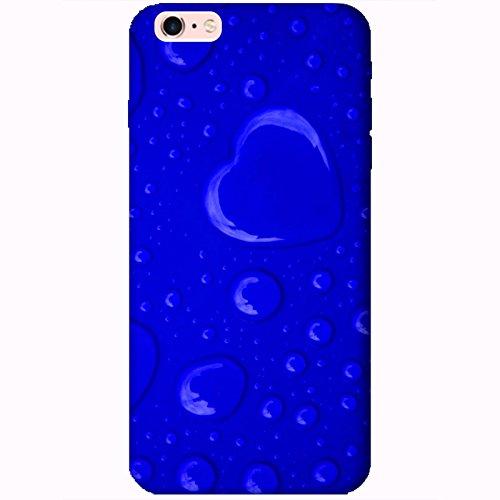 Coque Apple Iphone 6 Plus-6s Plus - Coeur de pluie bleu