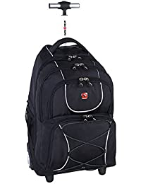 """15.6"""" Rolling Computer Backpack (SWA0961)"""