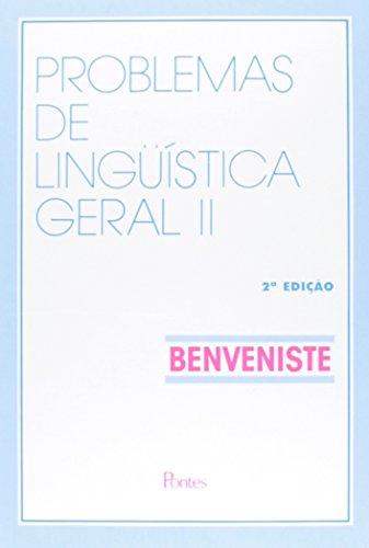 Problemas de Linguística Geral - Volume 2