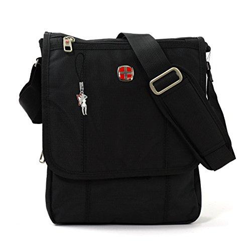 Messenger Bag Akten Dokumenten Tasche College Mappe, Citybag, Ausweistasche, Flugbegleiter