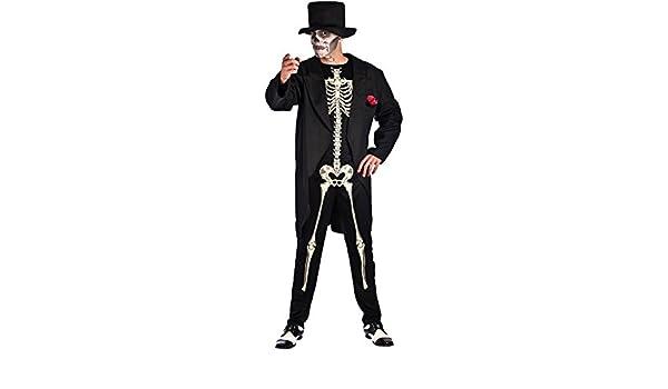 Disfraz de Esqueleto Elegante para hombre: Amazon.es: Juguetes y ...