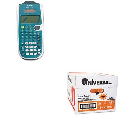KITTEXTI30XSMVUNV21200 - Value Kit - Texas Instruments TI-30XS MultiView Calculator (TEXTI30XSMV) and Universal Copy Paper (UNV21200)