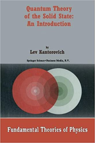 Download E-books Quantum Theory of the Solid State: An Introduction