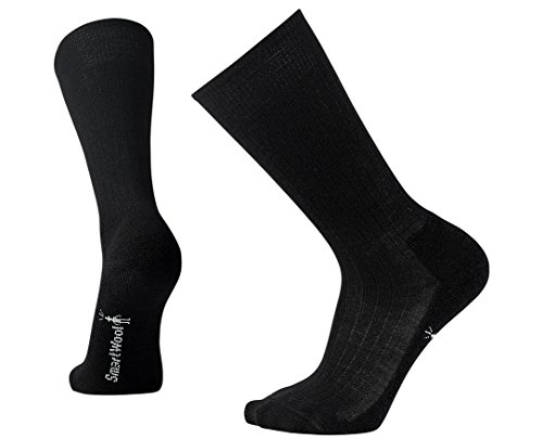 Smartwool Men's New Classic Rib Socks (Black) Large