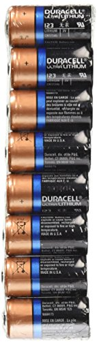 Dl123a Duracell Ultra Lithium 8 Batteries Cr123a