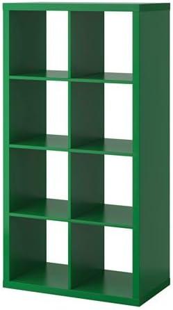 Ikea KALLAX estantería de Pared Verde; (77 x 147 cm ...
