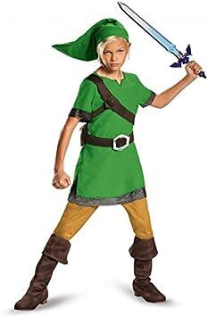 Link Child Costume-Childrens Small (4-6): Amazon.es: Juguetes y juegos