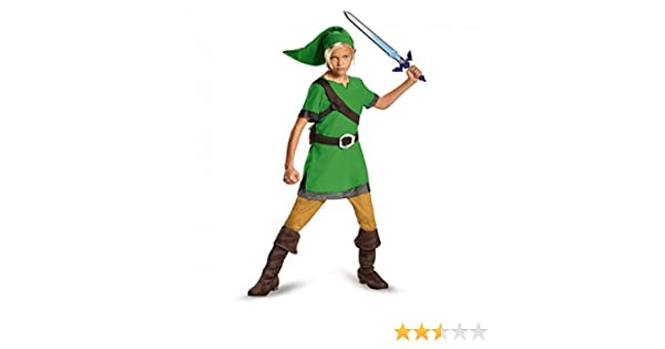 Link Child Costume-Childrens Large (10-12): Amazon.es: Juguetes y ...