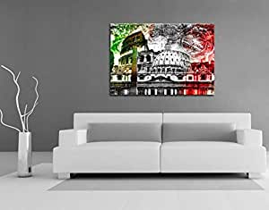The City. Rome Italy 4053. Size 100x70x2cm(l/h/w). Canvas On Wooden Frame. Made In Germany.