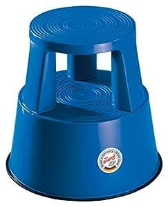 Wedo 212203 - Taburete con ruedas, azul