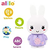 alilo Honey Bunny Story Teller Nursery Rhyme Lullaby Song Bedtime Story Fairy-tale Interactive Children Brain Kid Early Development Learning Toy Training Bluetooth English Chinese Bilingual G6X Purple