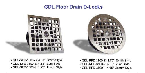 Guardian Drain Lock Square Floor Drain Lock Zurn Style 4