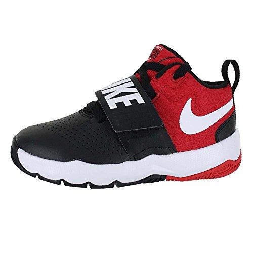 Nike Enfants Préscolaire Équipe Hustle D 8 Chaussures De Basket Noir / Blanc / Université Rouge
