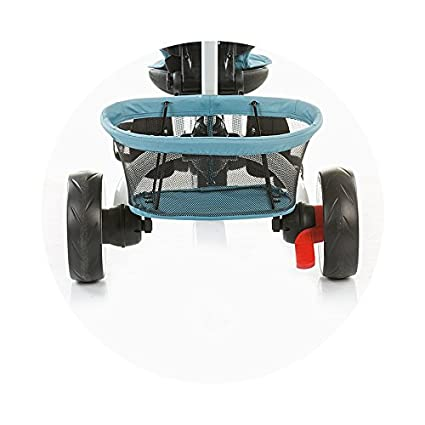 Triciclo evolutivo con respaldo reclinable Urban Blue (grey): Amazon.es: Bebé