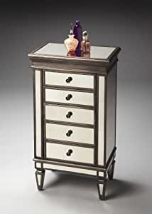 Butler specality company BUTLER 2907146 CELESTE MIRRORED JEWELRY CHEST