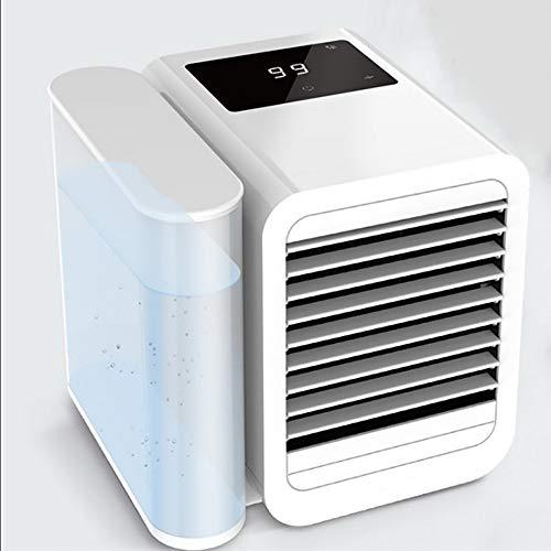 Ventilador Personal Del Aire Acondicionado Usb - Mini Humidificador PortáTil Para Enfriador De Aire, Ventilador De Escritorio Evaporativo De Aire FríO Para La Oficina En Cas