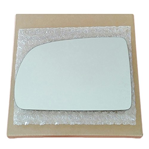 Mirror Glass and Adhesive | 1998 - 2003 Toyota Sienna Van Driver Left Side (Toyota Sienna Replacement Driver)