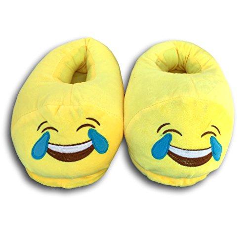 y kackh Smiley Zapatillas kacki aufen; selección nbsp;43 beso talla diseño Emoji nbsp;� Lustig EKNA nbsp;Unisex Pájaros 35 gvcqw67FxH