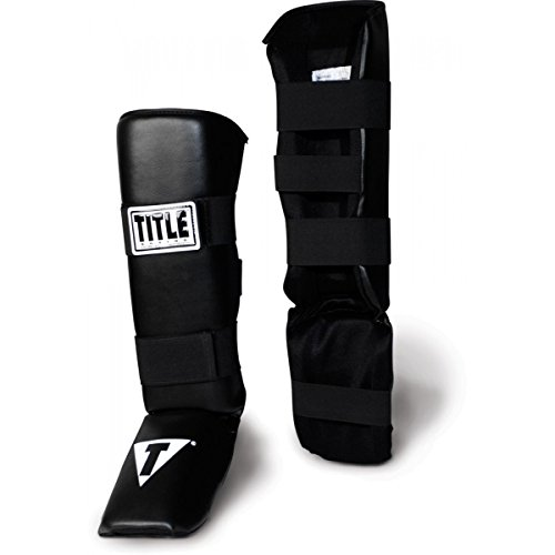 Title Vinyl Shin/Instep Guards