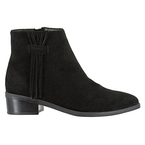 Bella Vita Womens Fern Ankle Boot Black Suede