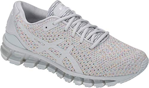 ASICS Gel-Quantum 360 Knit 2 Women's Running Shoe, Mid Grey/Glacier Grey, 10.5 M US
