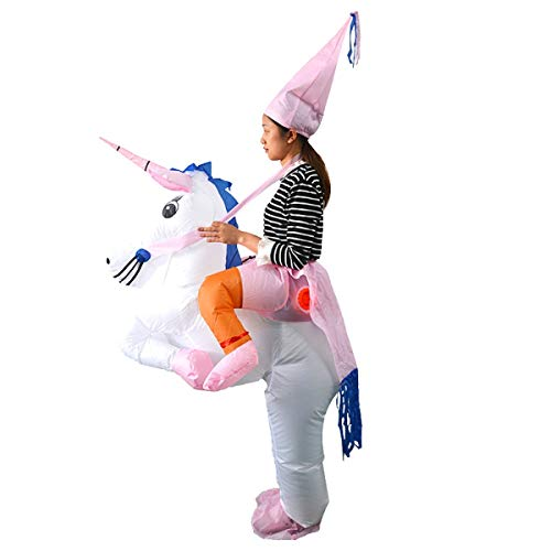 Purple Inflatable Funny Costumes - RONSTA Inflatable Costumes, Unicorn Fancy Costume