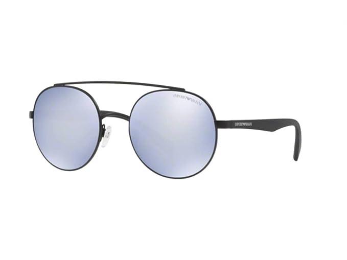 Emporio Armani 0EA2051 Gafas de sol, Matte Black, 53 para ...