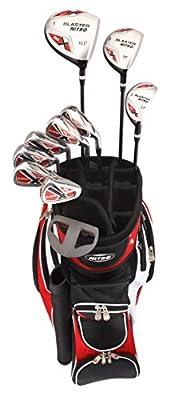 Nitro Golf- Blaster 15 Piece Complete Set With Bag Graphite/Steel