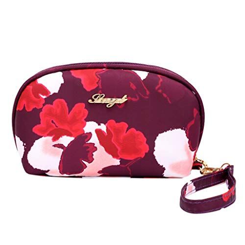 (Lefthigh Women's Fashion Cosmetic Bag Handbag Casual Totes Outdoor Portable Coin Purse)