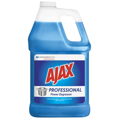 Ajax Professional Power Degreaser Dishwashing Liquid, Original, 1 Gal. Bottle (4/Carton) - BMC- CPC04916 by Miller Supply Inc