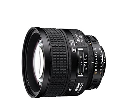 Nikon 85mm f/1.4D AF Nikkor Lens for Nikon Digital SLR Cameras (Nikon 85 Mm D)