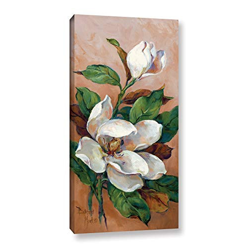 ArtWall Barbara Mock's Magnolia Accents II, Gallery Wrapped Canvas 24x48